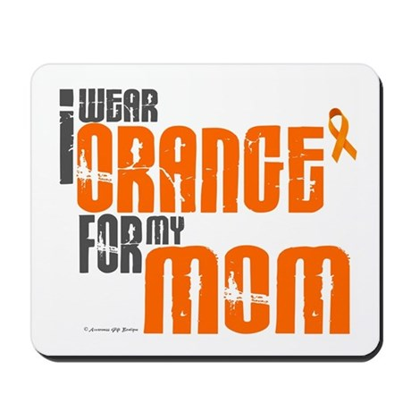 I Wear Orange For My Mom 6 Mousepad