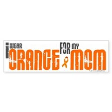 I Wear Orange For My Mom 6 Bumper Bumper Sticker