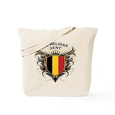 Number One Belgian Aunt Tote Bag