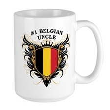Number One Belgian Uncle Mug