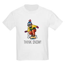 Think Snow Snowboarding T-Shirt