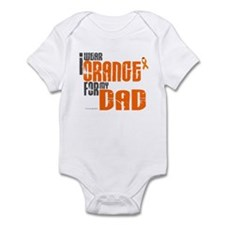 I Wear Orange For My Dad 6 Infant Bodysuit