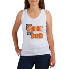I Wear Orange For My Dad 6 Women's Tank Top
