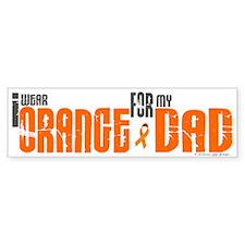 I Wear Orange For My Dad 6 Bumper Bumper Sticker