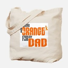 I Wear Orange For My Dad 6 Tote Bag