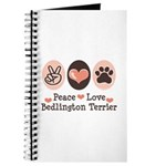 Peace Love Bedlington Journal