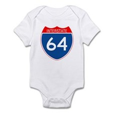 Interstate 64 Infant Bodysuit