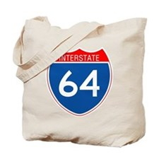 Interstate 64 Tote Bag