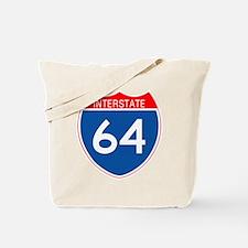 Interstate 64 Tote Bag