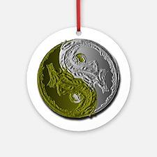 Dragons Yin-Yang Ornament (Round)