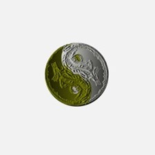 Dragons Yin-Yang Mini Button
