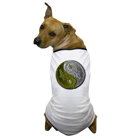 Dragons Yin-Yang Dog T-Shirt