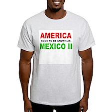 Unique American mexican border T-Shirt