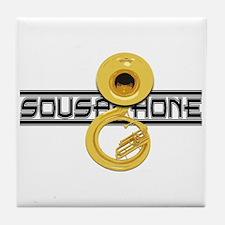 Sousaphones Tile Coaster