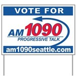 AM1090 Yard Sign