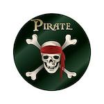 """Pirate 3.5"""" Button"""