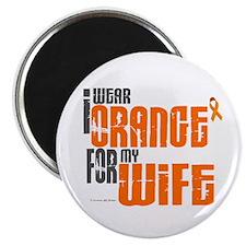 I Wear Orange For My Wife 6 Magnet