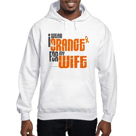 I Wear Orange For My Wife 6 Hooded Sweatshirt