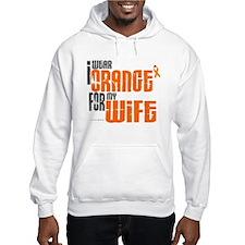 I Wear Orange For My Wife 6 Hoodie