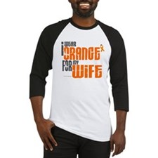 I Wear Orange For My Wife 6 Baseball Jersey