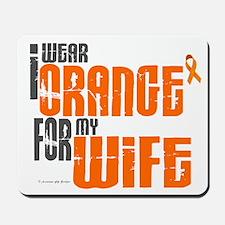 I Wear Orange For My Wife 6 Mousepad
