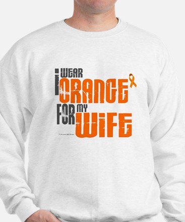 I Wear Orange For My Wife 6 Sweatshirt