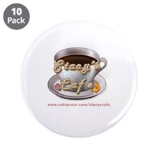 """Stacy's Cafe Logo 3.5"""" Button (10 pack)"""