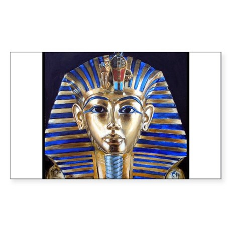 Tutankhamun Rectangle Sticker