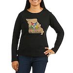 OES PWM - Missouri Women's Long Sleeve Dark T-Shir