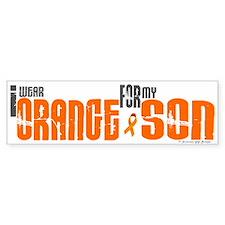 I Wear Orange For My Son 6 Bumper Car Sticker
