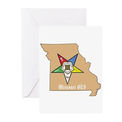 Order of the Eastern Star Missouri Greeting Cards