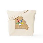 Order of the Eastern Star Missouri Tote Bag