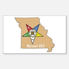 Order of the Eastern Star Missouri Decal