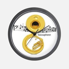 Sousaphone Music Wall Clock