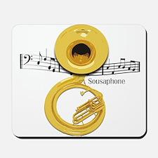Sousaphone Music Mousepad