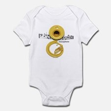 Sousaphone Music Infant Bodysuit