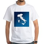 Italy & Sicily White T-Shirt