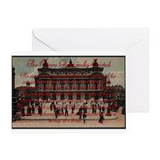 Paris Opera ~ Greeting Card