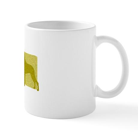 Color Row Great Dane Mug