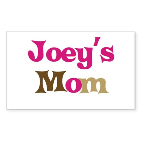 Joey's Mom Rectangle Sticker