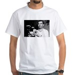 Lucky Luciano White T-Shirt