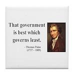 Thomas Paine 1 Tile Coaster