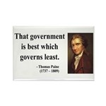 Thomas Paine 1 Rectangle Magnet (100 pack)