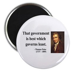 """Thomas Paine 1 2.25"""" Magnet (100 pack)"""