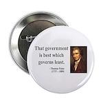 """Thomas Paine 1 2.25"""" Button"""