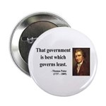 """Thomas Paine 1 2.25"""" Button (10 pack)"""