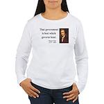 Thomas Paine 1 Women's Long Sleeve T-Shirt