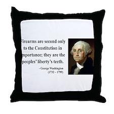 George Washington 12 Throw Pillow