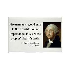 George Washington 12 Rectangle Magnet