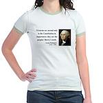 George Washington 12 Jr. Ringer T-Shirt